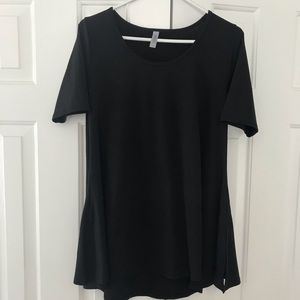 Lularoe perfect t black solid small